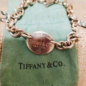 Tiffany & Co. Oval Disc Bracelet